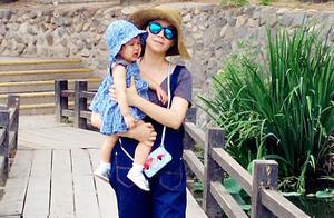 曾被曝是陈坤儿子生母,如今发福,何琳晒与女儿合影
