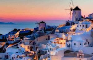 希腊圣托里尼岛,旅游的过度开发,所造成的现状让人担忧