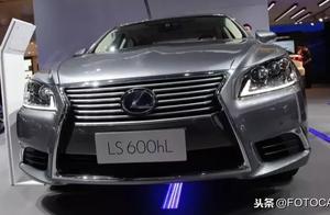 实拍/雷克萨斯LS600h L,比辉腾还低调的顶级豪车,售价近240万!