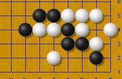 黑先,常见的吃棋手筋必须掌握