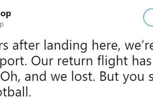 BBC主持诉苦:心爱的球队输了,航班还被取消