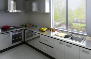 入住半年说句大实话:厨房台面用不锈钢好不好?太多家庭搞错了!