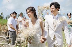 萧正楠黄翠如低调举行婚礼 二人约定下一辈子还要相爱
