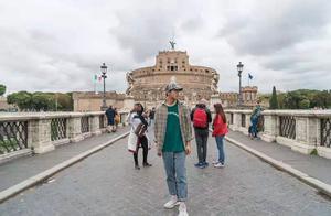 意大利旅行 打卡圣天使堡