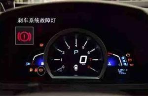 汽车仪表盘上有几十种故障灯,当着些故障灯点亮后最好及时停车!