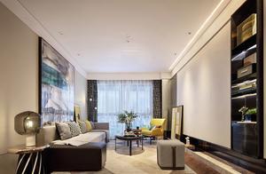 仅仅花了9万元,就把90平米的三居室装修的美轮美奂!-长投绿城蘭园装修