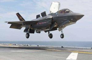 驻日美军F-35战机起飞时撞鸟 损失超200万美元