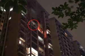 又见高层火灾!广州一住宅楼16层凌晨起火,一家人这样做成功等到救援!