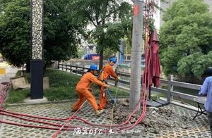 """首次!海宁电力改造实现高压""""停电不停用户"""""""