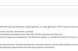 游戏障碍列为疾病怎么回事 什么是游戏障碍有什么表现