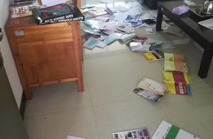 福建金淘一女子闯入学校辱骂教师扔课本,被行政拘留7日