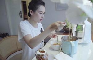 女神代价:章子怡泡面吃四口,刘诗诗曾不吃主食,她十三年只吃素