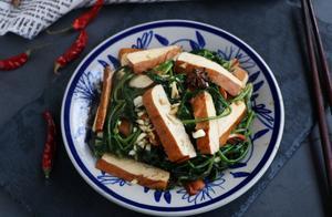 天热就馋这个凉拌菜,好吃补钙不上火,比凉拌黄瓜还要美味!