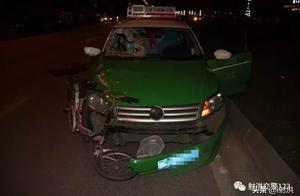 射洪出租车严重超速,一名女子当场死亡,现场惨烈