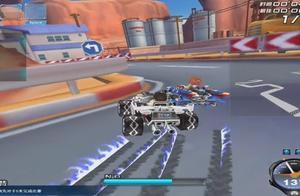 QQ飞车:剧情挑战,测试飞车最新防碰撞属性