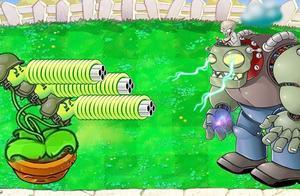 植物大战僵尸: 加特林豌豆黑客vs 999巨型僵尸
