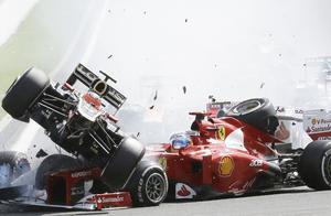 F1史上十大最惨烈事故,最后一幕真是触目惊心