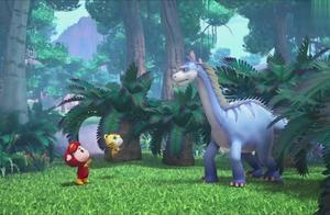 猪猪侠之恐龙日记:猪猪侠在寻找剑侠龙时,发现了神奇的阿马加龙
