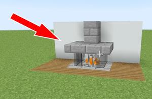 我的世界:超逼真的古代壁炉,营火?那是什么东西