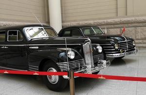 中国人民革命军事博物馆,有2辆黑色防弹车,其中1辆是毛主席专车
