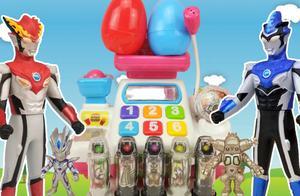 奥特曼超市买奇趣蛋变形蛋趣味玩具,奥特曼玩具