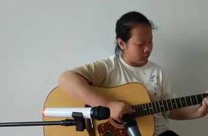 小姑娘吉他独奏《射雕英雄传》主题曲《铁血丹心》经典,值得收藏
