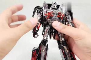 变形金刚擎天战神暗黑机器人组装变形