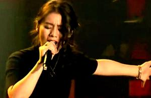 清华女学霸唱阿黛尔歌曲开口跪,现场台风炸裂,气场堪比大明星!