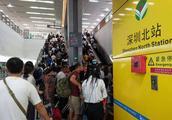 在深圳地铁1号线怎么换乘5号线
