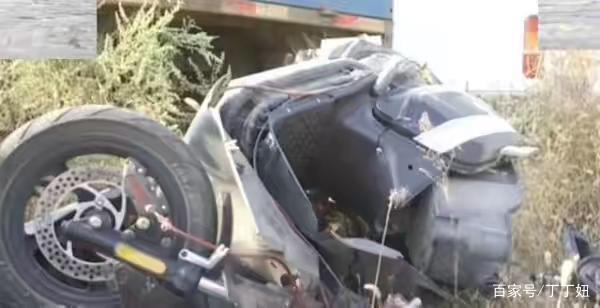 电动车非法改装时速高达200 一场事故后被撞报废了