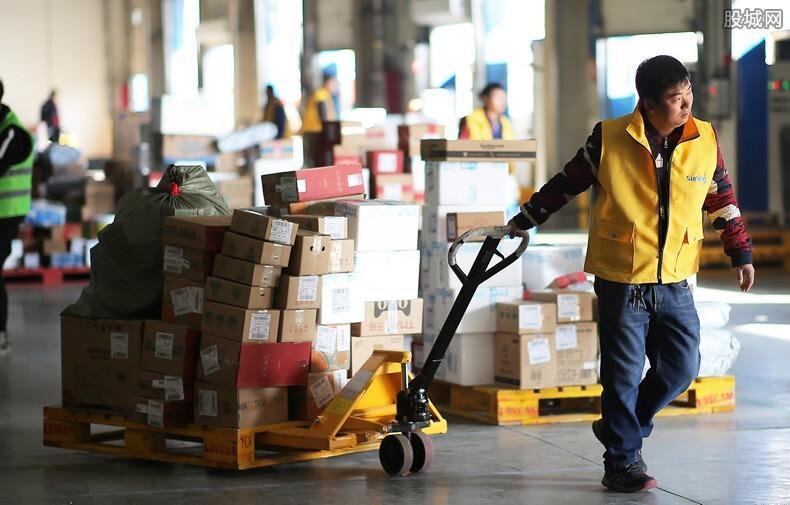 中国快递行业