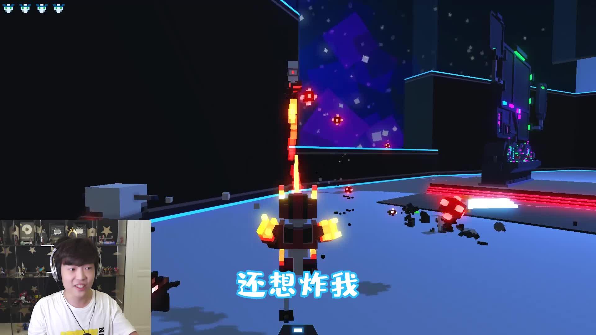 击败四大天王机器人!