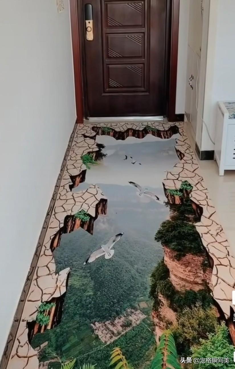 家里装了一款这样的地板 会不会吓到客人