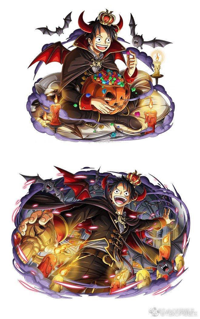 海贼王官方手游宝藏巡航公布万圣节人气角色新图