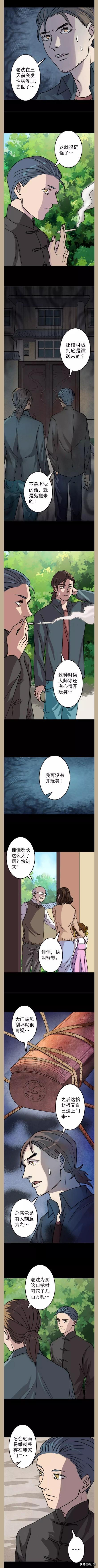 恐怖悬疑惊悚盗墓漫画小说《凶棺》连载-第18章:棺材门是谁送来的?