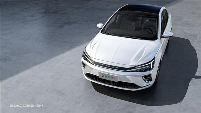 新年最值得期待的純電轎車什么樣?榮威Ei6前臉細節曝光!