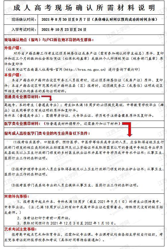 【麻醉师技能培训】2021年江西成人高考报名即将结束!还有哪些需要注意的事项?