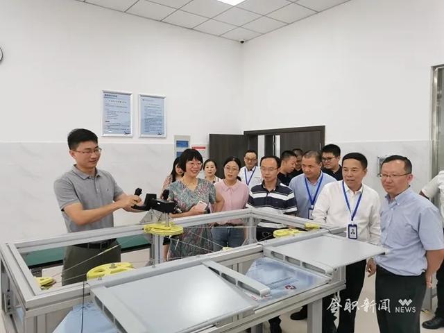 民航华东管理局对金职院进行CCAR-147初始合格审定