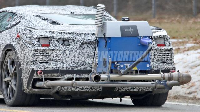 雪佛兰科尔维特C8混动版谍照首曝 2022年正式发布