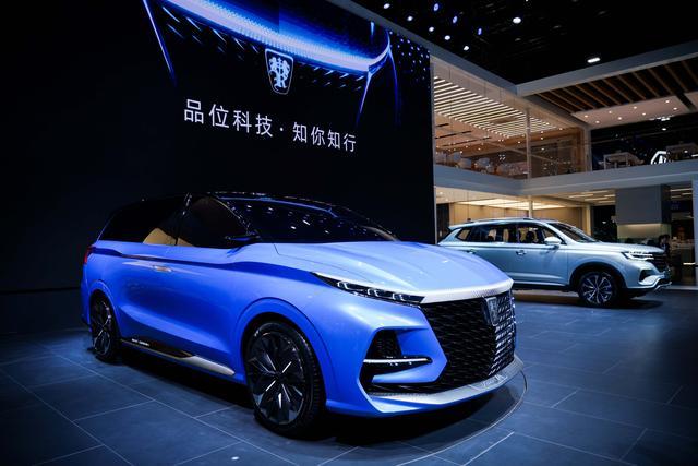 荣威RX5 eMAX正式上市、MPV概念车全球首发
