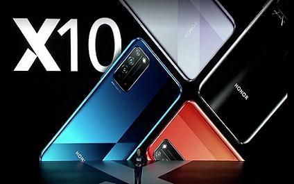 荣耀X10发布,成为目前最便宜的5G手机-最极客