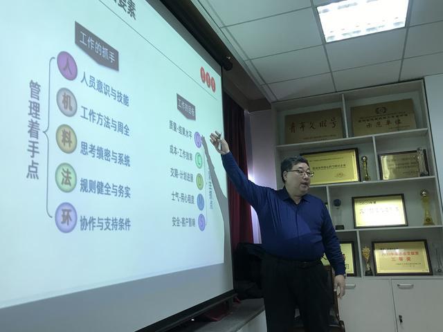 3月7日阎金岱老师给华兴建设有限公司讲授《中高层管理能力提升