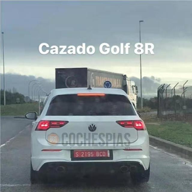全新高尔夫GTI/R实车曝光 预计今年发布