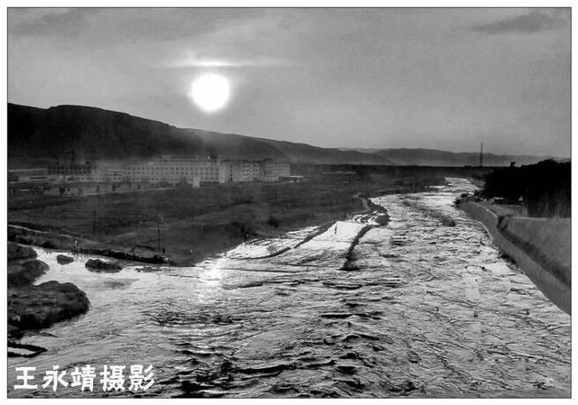 冬日的会宁祖厉河……