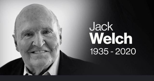 """悲伤!""""世纪经理""""管理天才杰克·韦尔奇走了,""""遗产""""也在持续贬值"""