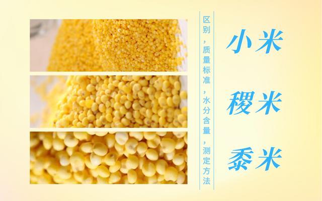谷子和黍子的区别是什么?怎样区分?