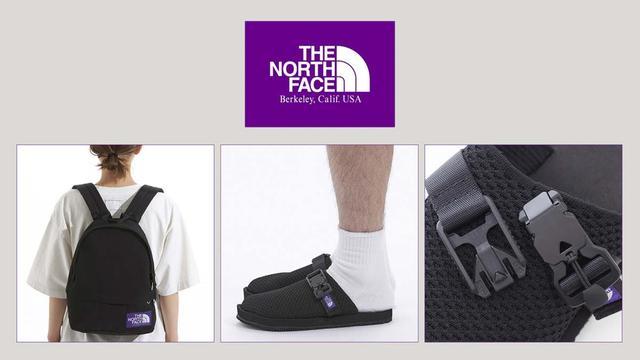 The North Face(北面)紫标系列新品,背包、凉鞋最抢手