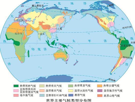 【参加技能培训合格证书样式】高考地理教研:一道综合自然地理习题,四个重要考点全包括