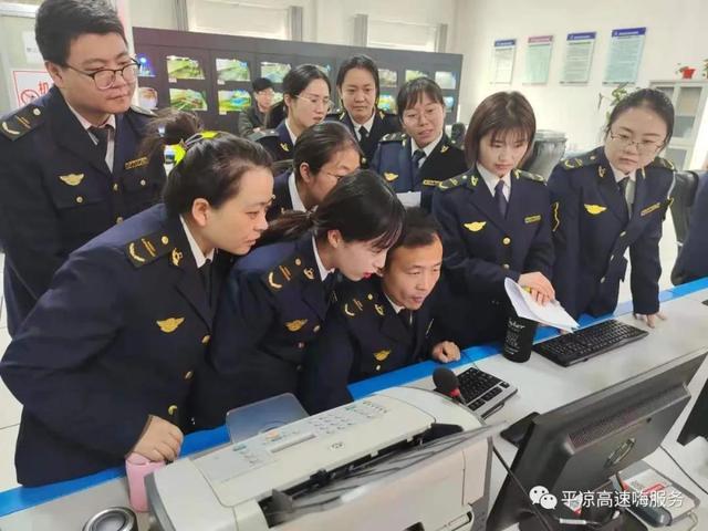 加强学习练内功,提升本领促保障——崆峒所组织开展监控业务技能培训活动