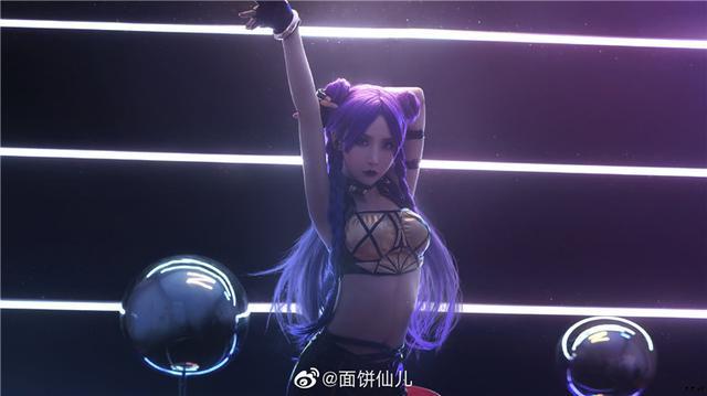 面饼仙儿COS作品合集精选丨英雄联盟·卡莎